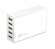 JUP50 40W 5 ポート USB 充電器 40W 5port USB Super Charger