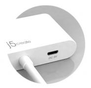 JDA156 Mini DisplayPort to Dual HDMI Adapter