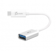 JUCX05 USB 3.1 Type-C to Type-A Adapter