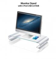 JUT325 Monitor Stand with 3-Port USB 3.0 HUB