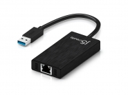 JUH470 USB 3.0 Gigabit Ethernet & 3-Port HUB
