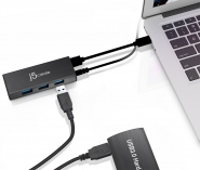 JUH340 USB 3.0 4-port Mini Hub