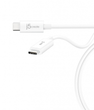 JUCX01 USB 3.1 Type-C to Type-C Coaxial Cable