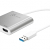 JUA365 USB 3.0 to Dual HDMI Multi-Monitor Adapter